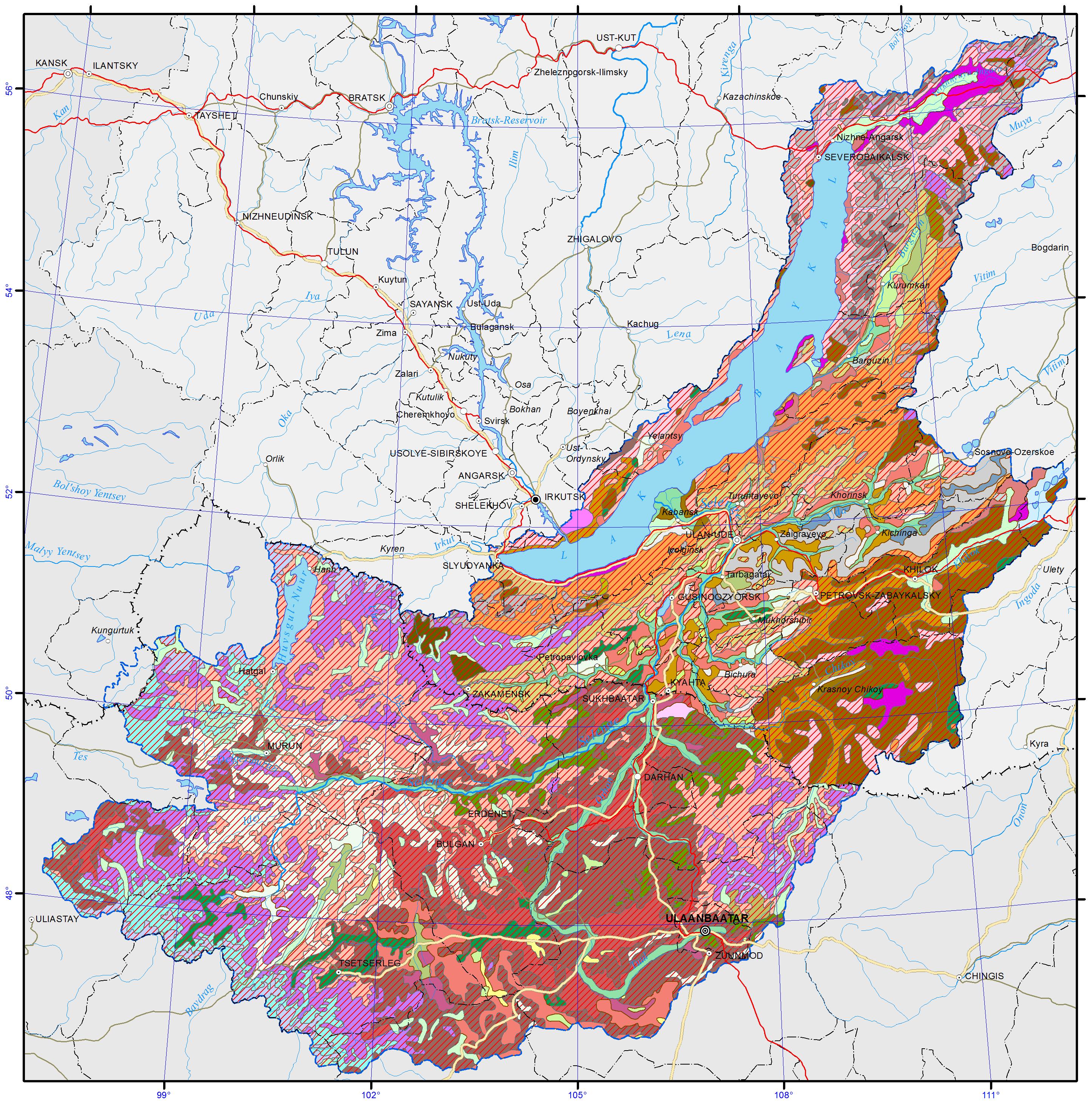 The Selenga River (Lake Baikal Basin): description, tributaries and interesting facts 73