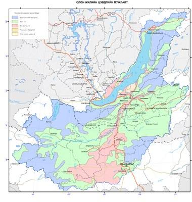 32. Олон жилийн цэвдгийн мужлалт